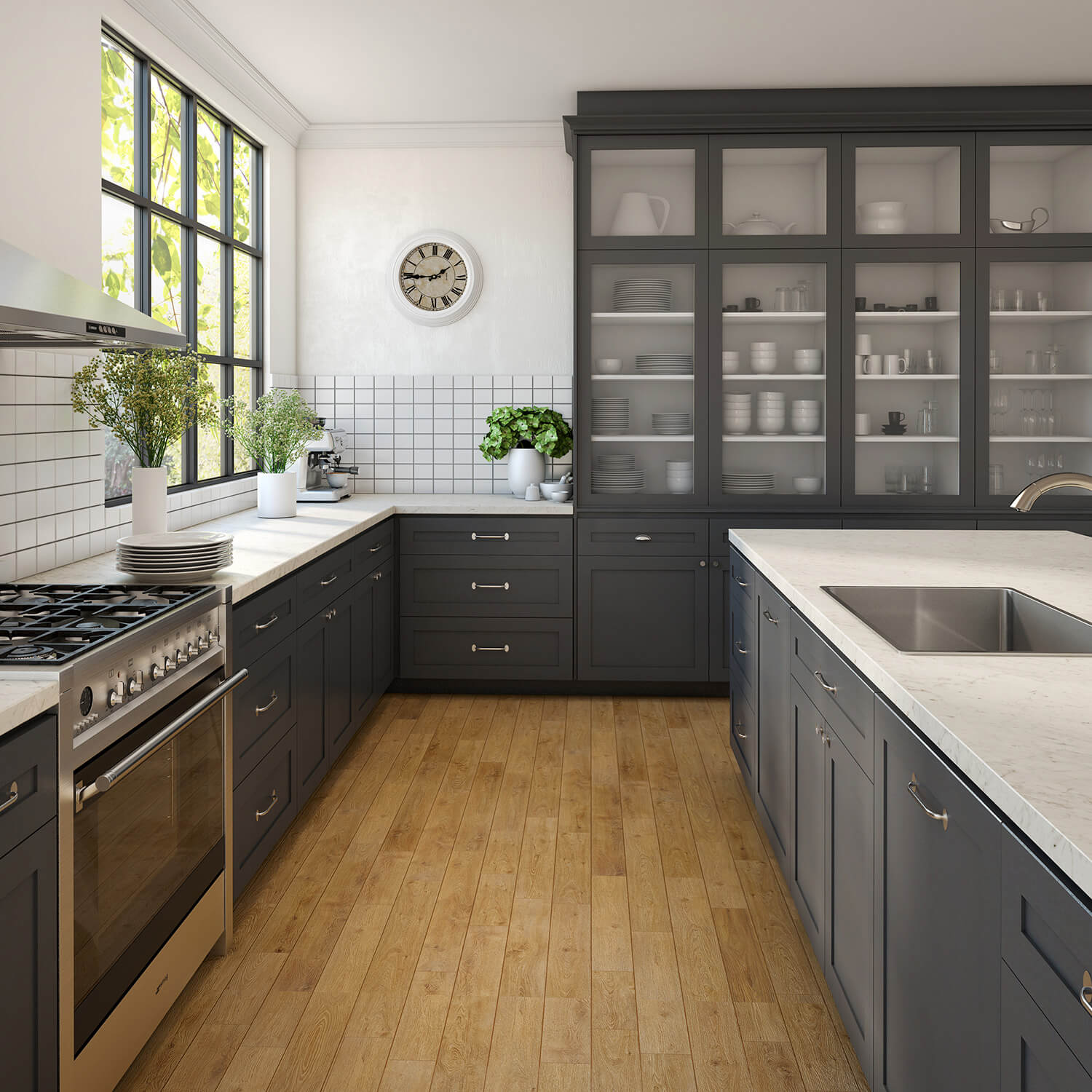 Best Small Kitchen Designs: Burleigh Laminated Benchtops