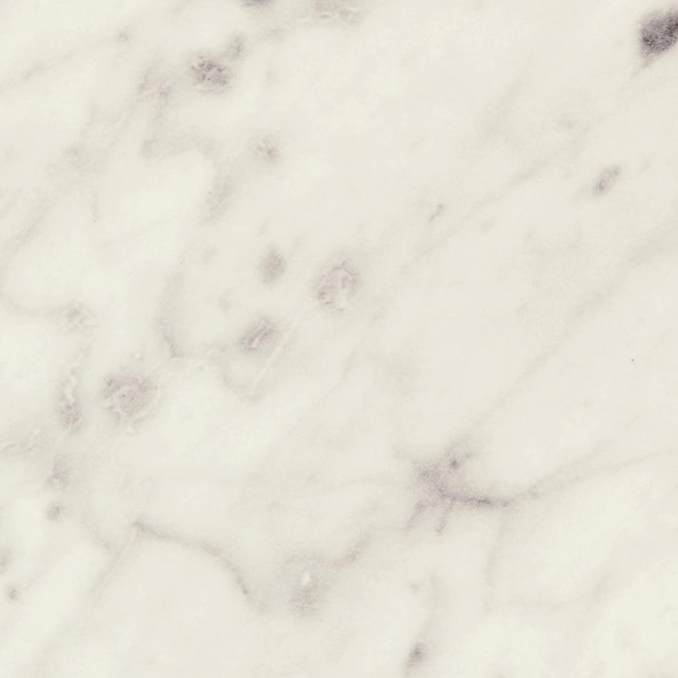 Carrara Bianco is a marble decor with soft linear warm grey veining on an off-white base. Natural finish is a low sheen, smooth touch finish that gives a very natural look.