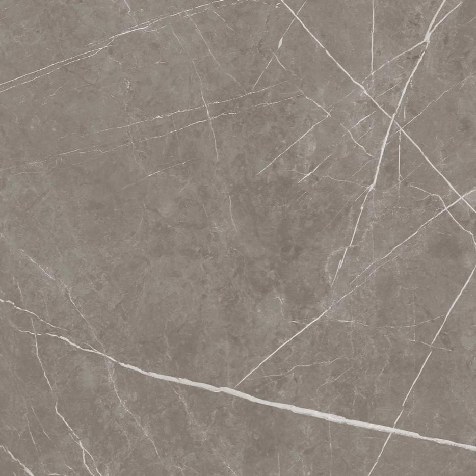 Grigio Grafite is a marble look decor with moderate white linear veining on a mid tone grey base. Natural finish is a low sheen, smooth touch finish that gives a very natural.